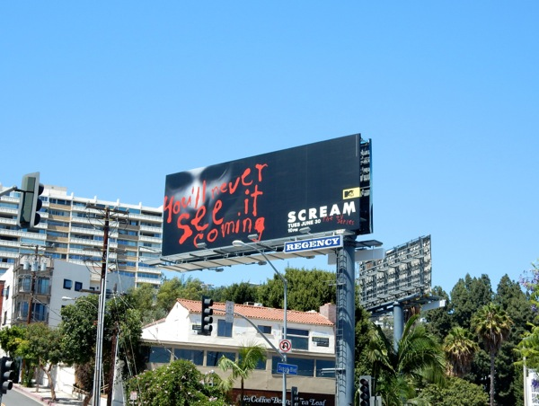 Scream MTV season 1 billboard