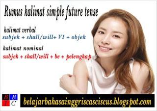 contoh kalimat simple future tense