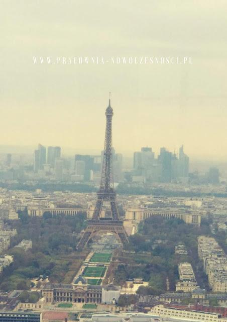 miasto paryż