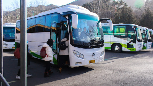 shuttle bus ke mutianyu