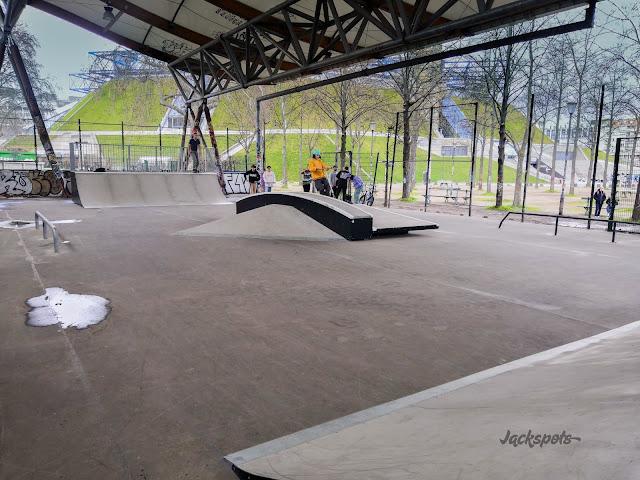 nouveau skatepark bercy 2021