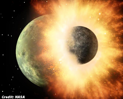'Iron Rain' Bypasses the Moon to Fall Mostly on Earth?