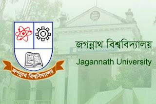 জগন্নাথ বিশ্ববিদ্যালয় - এর বিভিন্ন বিভাগে 'সহযোগী অধ্যাপক', 'সহকারী অধ্যাপক' ও 'প্রভাষক' পদে নিয়োগ বিজ্ঞপ্তি