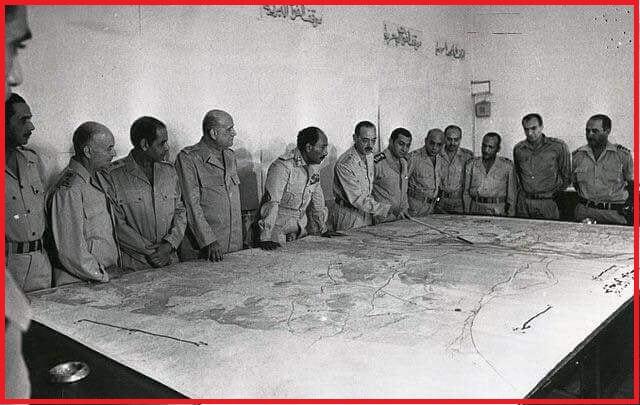 لائحة كاملة بأسماء جميع قادة حرب أكتوبر 1973م