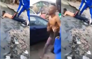 Yahoo Boy Runs Mad After Failed Attempt To Use Mother For Ritual (VIDEO)