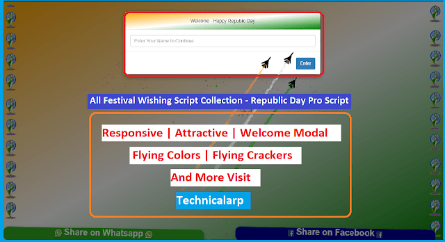 All Festival Wishing Script Blogger Download Republic day Wishing Script