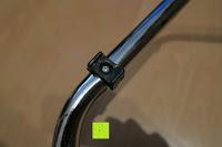Fuß: Andrew James großer 45cm Bodenventilator aus Metall – 100 Watt, kraftvoller Luftfluss, 3 Geschwindigkeitseinstellungen und verstellbarer Neigung – 2 Jahre Garantie