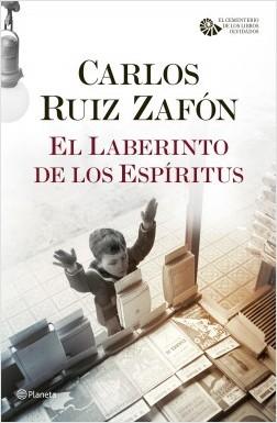 El Laberinto de los Espíritus, de Carlos Ruíz Zafón
