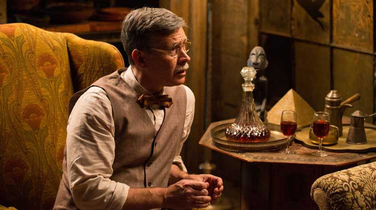 Connor Trineer stars as Professor Paul Langford in Stargate Origins.