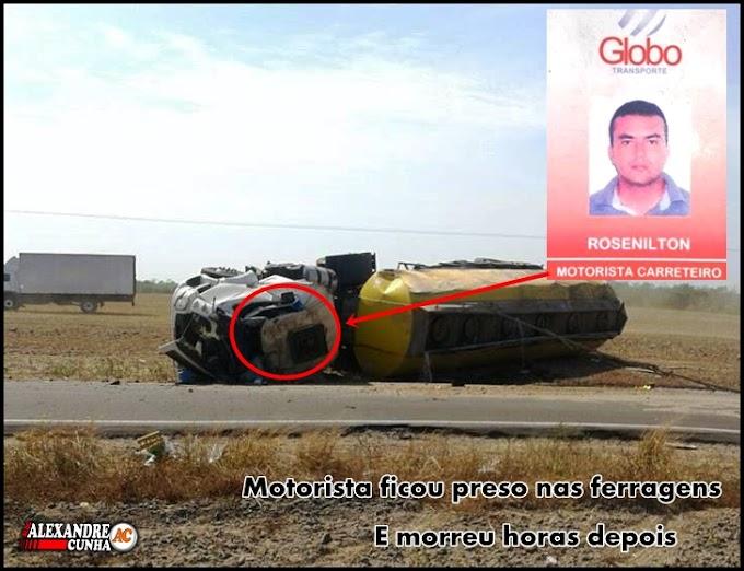 Motorista não resiste aos ferimentos e morre após acidente na MA 230, Próximo Anapurus