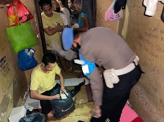 Sidak Ruang Tahanan, Provost Polres Pelabuhan Makassar Lakukan Pengawasan Secara Optimal