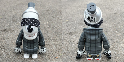No Love City Exclusive Mad Spraycan Mutant Skin Deep Edition Vinyl Figure by MAD x Martian Toys