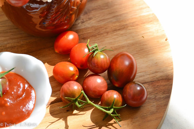 Ketchup aux tomates cerise © Popote et Nature