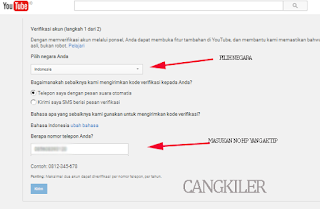 Cara Verifikasi Chanel Youtube