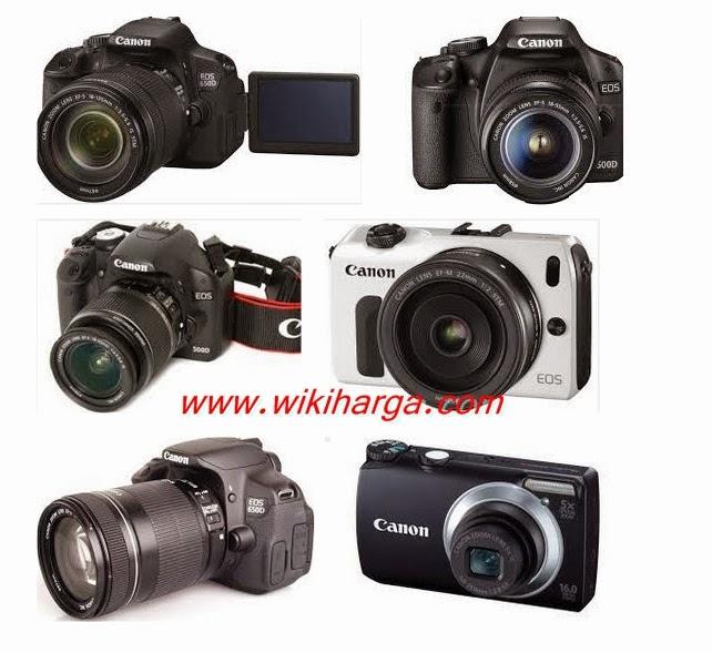 harga kamera canon terbaru
