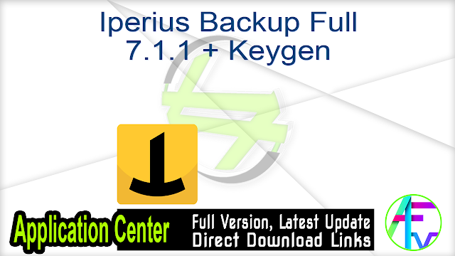 Iperius Backup Full 7.1.1 + Keygen