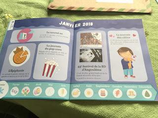 Première page du livret de la box Pandacraft de janvier 2018