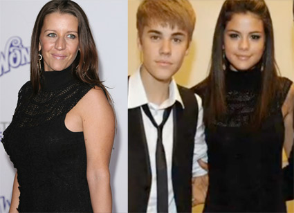 Bieber Hearsay: Pattie Mallette and Selena Gomez wear the same dress!