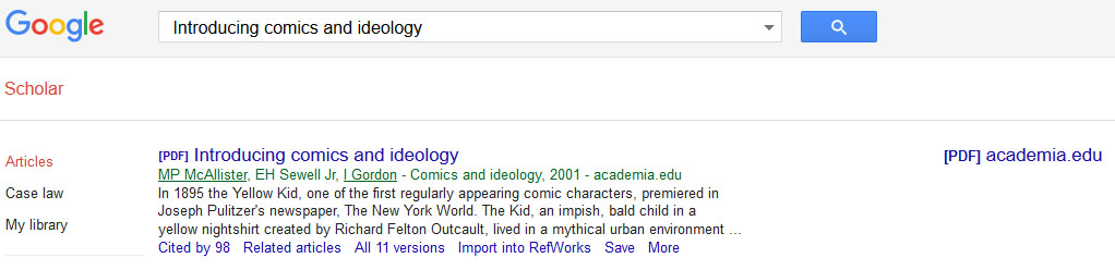 google scholar journal articles pdf