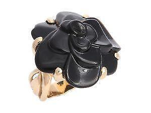Chanel Camelia Ring Ebay