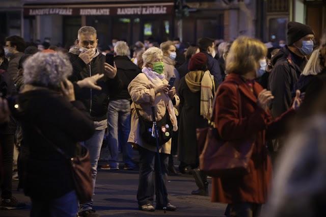 Tüntetés Budapesten