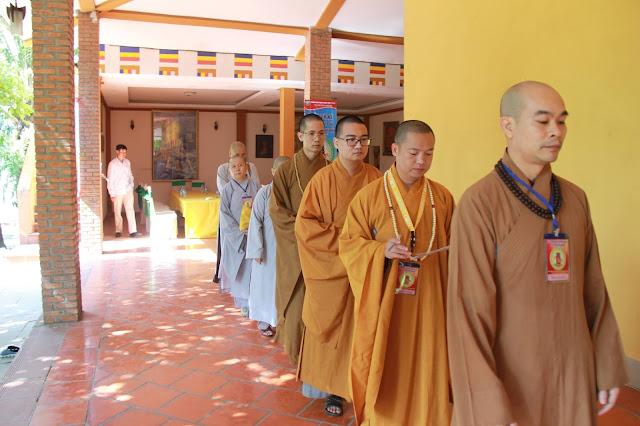 Hơn 1000 trại sinh tham dự lễ khai mạc Hội trại Tuổi trẻ Phật giáo Hệ phái Vĩnh Nghiêm lần 3 với chủ đề 'Về Nguồn' - Ảnh 2