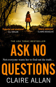 Ask No Questions by Claire Allan book cover