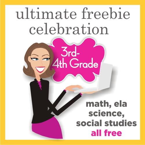 3rd Grade and Fourth Grade Free Download - Teacher Fun on Teaching Blog Addict