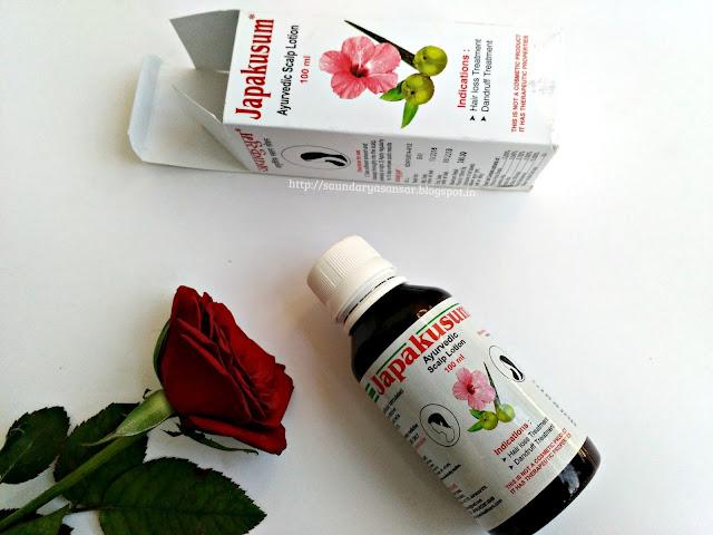 Japakusum Ayurvedic Scalp lotion: for hair loss and dandruff treatment