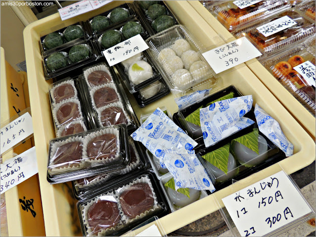Mochis en un Puesto de Tokio
