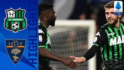 Video Sassuolo 4-2 Lecce: Vòng 30, VĐQG Italia