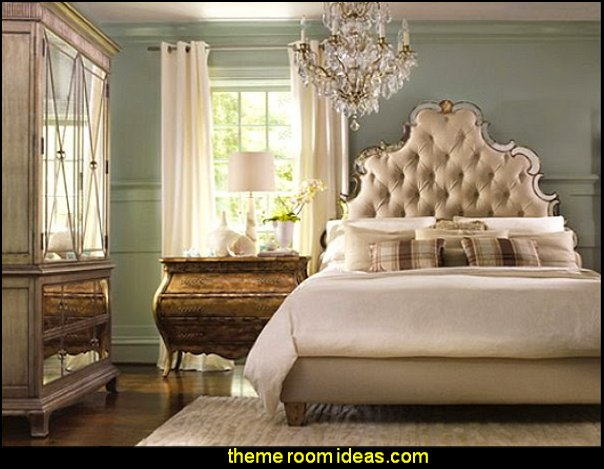 Tufted Bed old hollywood bedroom decorating hollywood glam bedroom movie star bedroom