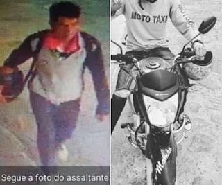 Mototaxista tem moto roubada