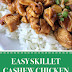 Easy Skillet Cashew Chicken