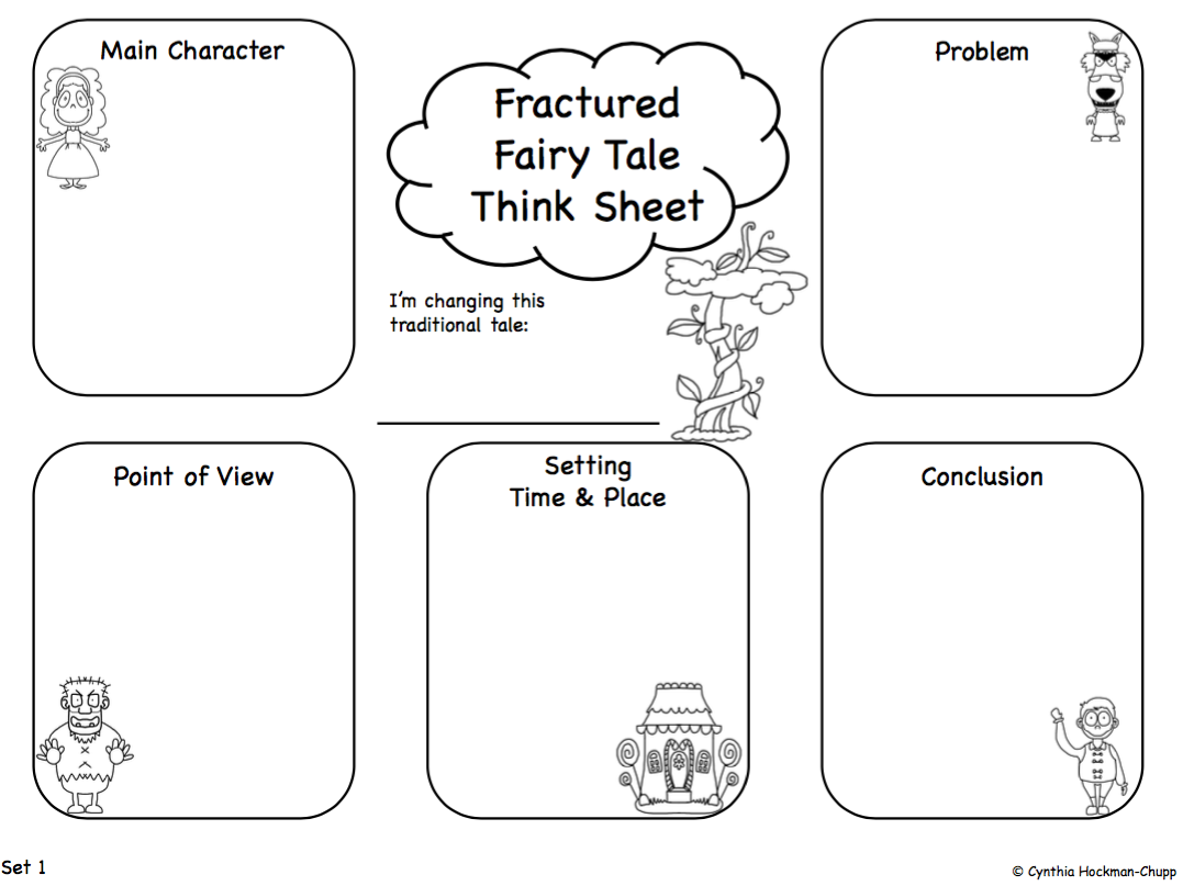 Love2learn2day Fractured Fairy Tales Favorite Unit Ever