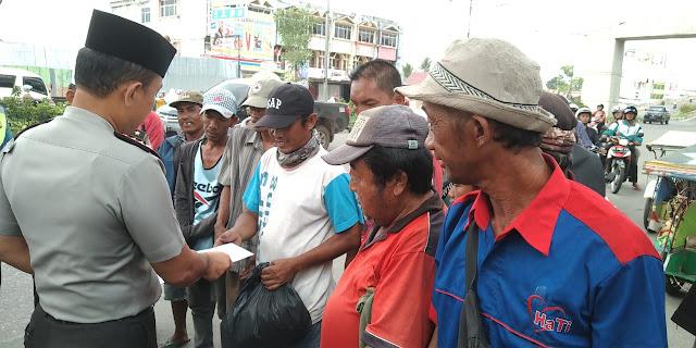 Polrestabes Palembang Galakkan Jumat Barokah