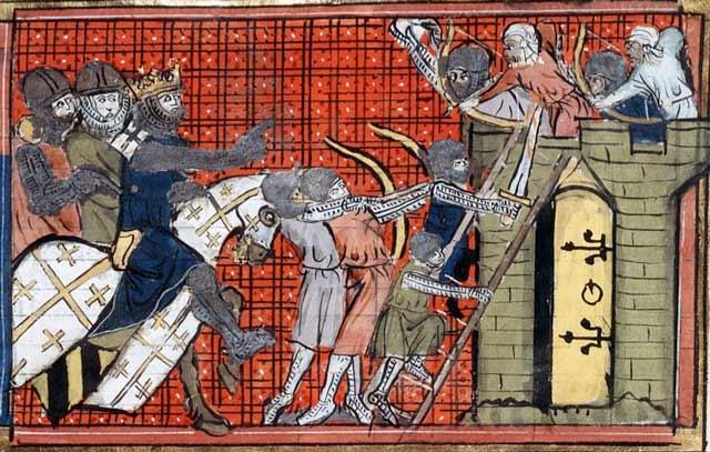 First Crusade battle Byzantium.filminspector.com