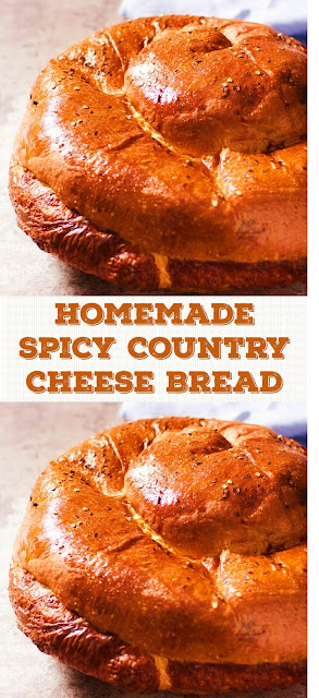 Homemade Spicy Country Cheese Bread