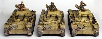1/56 Panzer 2 II Zug 28mm
