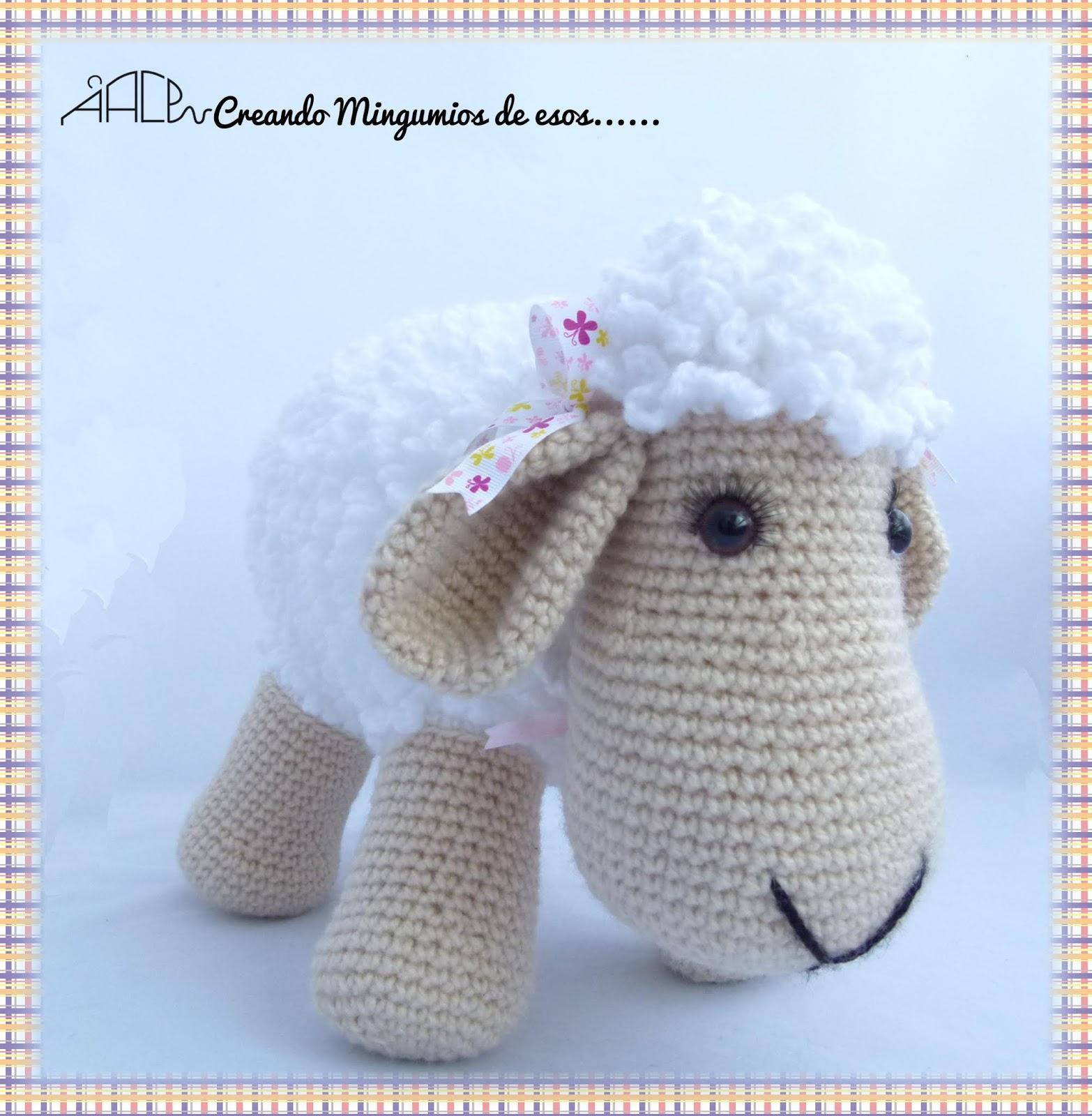 Ovejas puff (como pomponcitos :) tejidas a crochet / amigurumi ... | 1600x1566