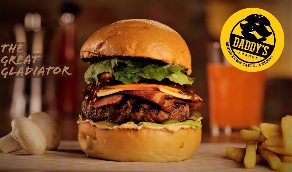 أسعار منيو و رقم عنوان فروع مطعم داديز برجر Daddy's Burger