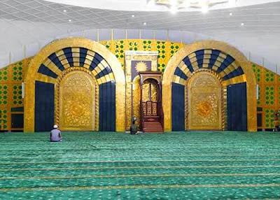 masjid agung deli serdang