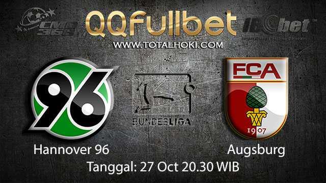 Prediksi Bola Jitu Hannover vs Augsburg 27 Oktober 2018 ( German Bundesliga )