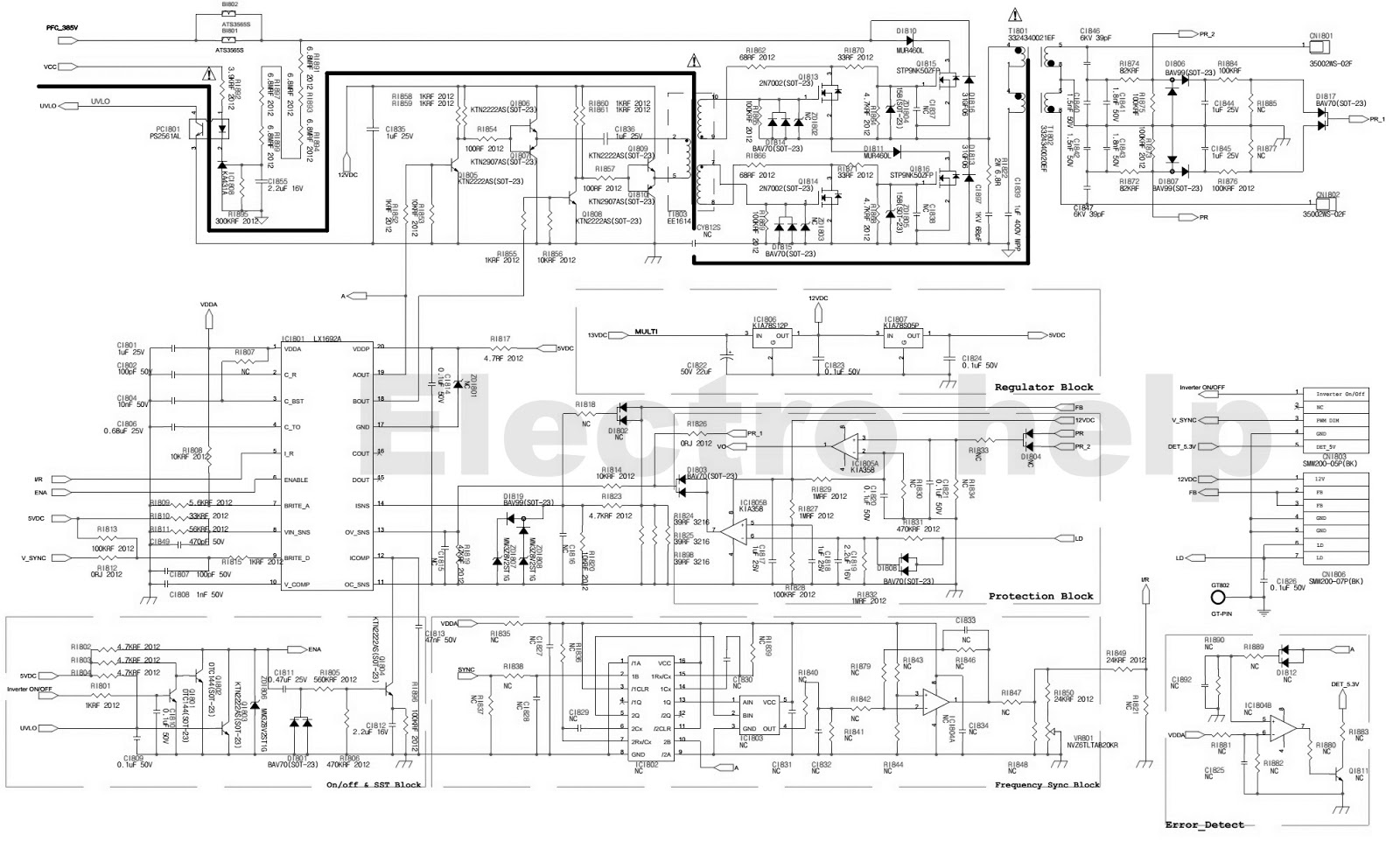 Sony Lcd Tv Power Supply Circuit Diagram Data Abb Earthleakage Breaker F364 Nib Wire Schema U2022 Rh Lemise Co Schematics Components