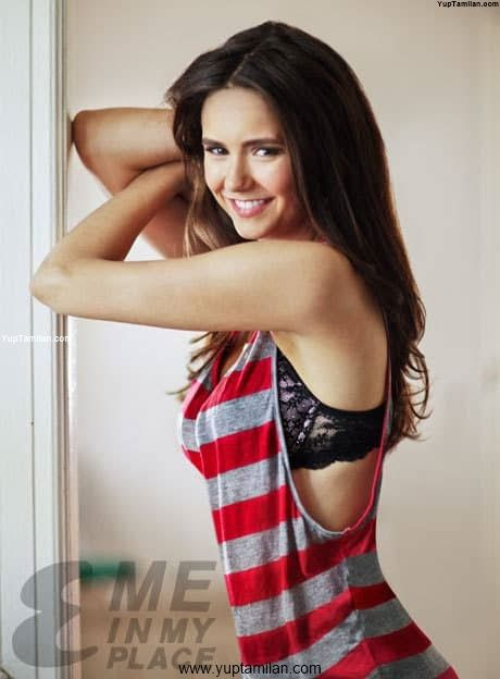 Nina Dobrev Hottest Bikini Photos