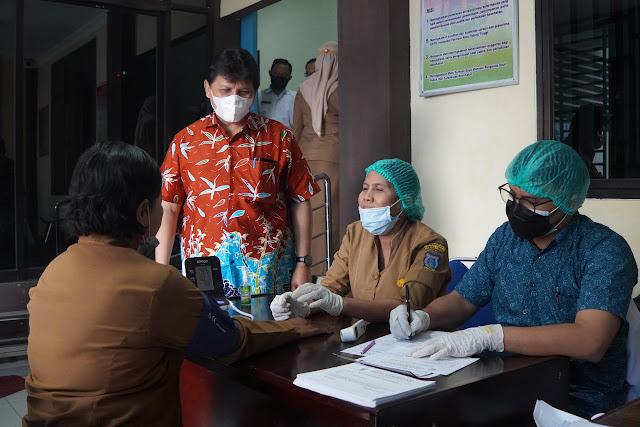LO Satgas Covid-19 Untuk Kota Tebingtinggi Kunker ke Dinas Kesehatan