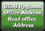 UIDAI Regional Office Address