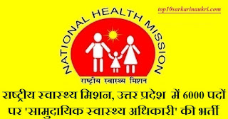 NHM UP Recruitment 2019