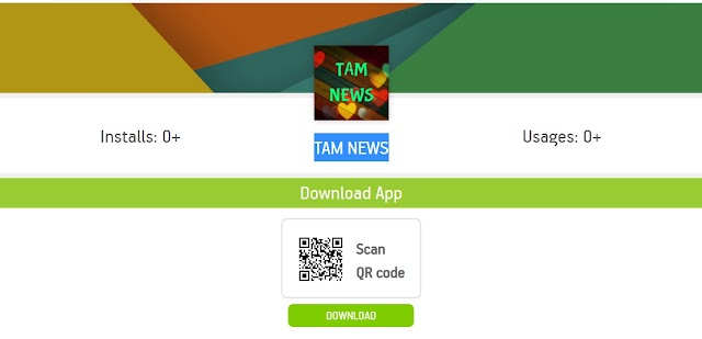 TAM NEWS-MOBILE APP (APK)