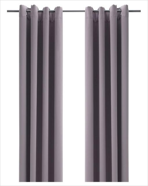 ikea blackout curtains light grey